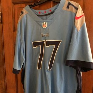 Nike Taylor Lewan #77 Tennessee Titans jersey